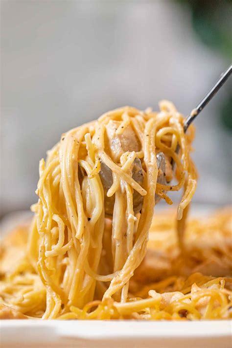 easy baked chicken spaghetti recipe dinner  dessert