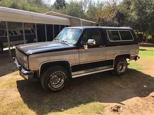 1982 Chevrolet Silverado K5 Blazer Rare Diesel And Very