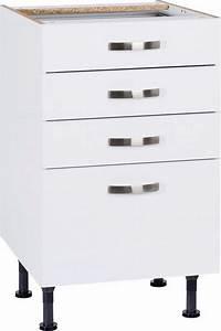 Soft Close Schublade : optifit cara unterschrank breite 50 cm 1 schublade online kaufen otto ~ Orissabook.com Haus und Dekorationen