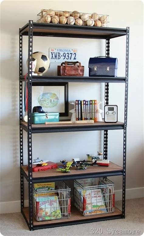25+ Best Ideas About Industrial Shelves On Pinterest