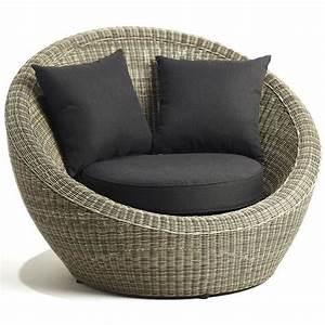 Fauteuil lounge confortable Léo Achat / Vente fauteuil jardin Fauteuil lounge confortable