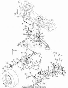 Mtd 13ap625k730  2007  Parts Diagram For Drive  U0026 Wheels Rear