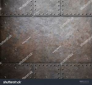 Rust Metal Texture Rivets Background Stock Photo 228567526 ...