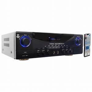 350w Watt 5 1 Home House Stereo Am  Fm Tuner Amp Amplifier Receiver 3d 4k New 68888999823