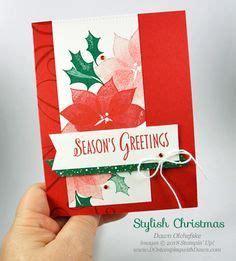 stampin  stylish christmas card  dawn olchefske