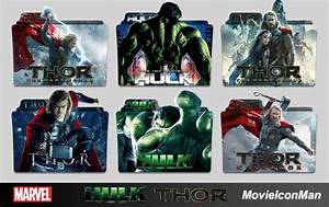Thor and Hulk Movies Folder Icon Pack by MovieIconMan on ...