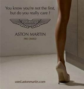 Aston Martin Used Car Ad Cars And Plane Models