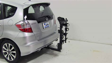 This hardware is quality made with highly durable materials and are incredibly safe to attach to your vehicle. honda fit Thule Hitching Post Pro - Folding Tilting 4 Bike ...