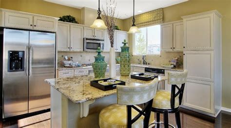 granite countertops las vegas nv cheerful yellow kitchen with light cabinetry and