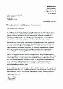 Bewerbung Zur Ausbildung : bewerbung als pharmakant pharmakantin ~ Eleganceandgraceweddings.com Haus und Dekorationen