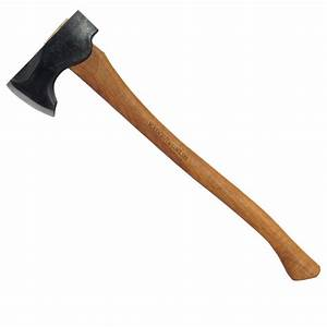 Council Tool 2# Wood-Craft Pack Axe, 24″ Curved Handle