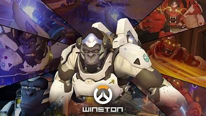 Overwatch Winston 1080p Wallpapers Backgrounds Background Desktop