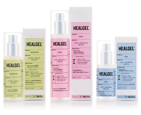 new packaging for healgel by pentagram bp o