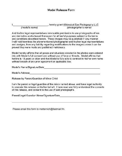 20245 artwork release form 23 best photography images on photo tips
