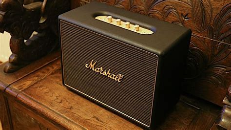 marshall woburn multi room speaker review techradar
