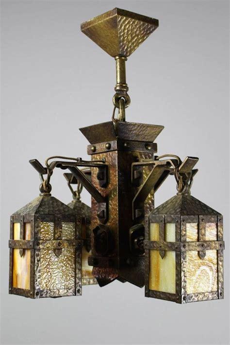 arts crafts chandelier lighting