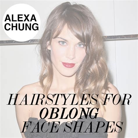 hair to suit oblong face shapes hair extensions blog