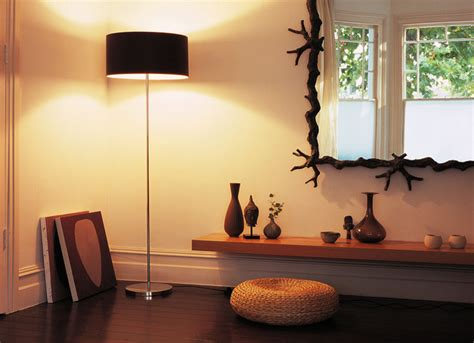 floor lamp  contemporary living room london