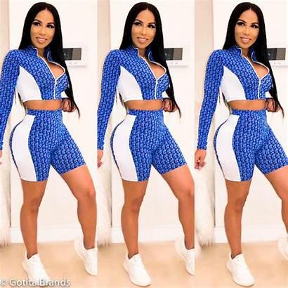 Activewear Trendy Sportswear Shorts Wear Womens Sports