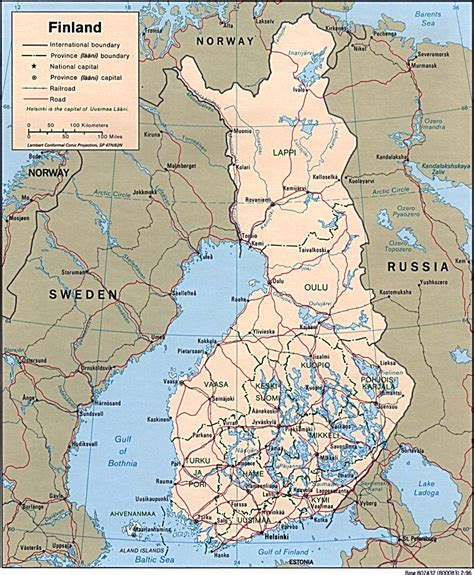 finland country profile nations  project