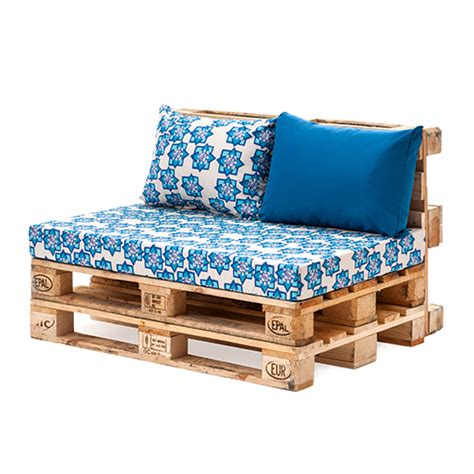 Cushions For Pallet by Designer Prints Pallet Seating Cushion Pads Garden