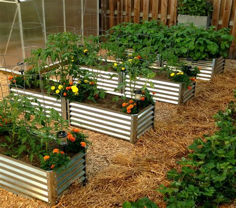 Metal Garden Beds 100% Recyclable Galvanized Steel