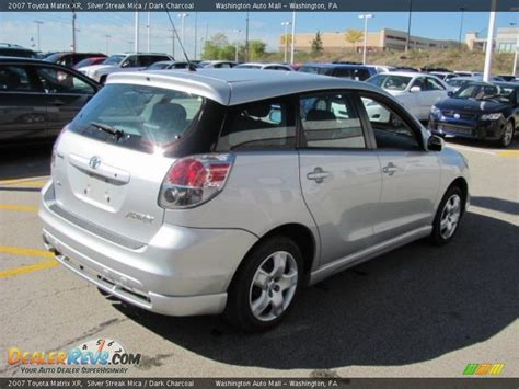 Toyota Matrix 2007 by 2007 Toyota Matrix Xr Silver Streak Mica Charcoal