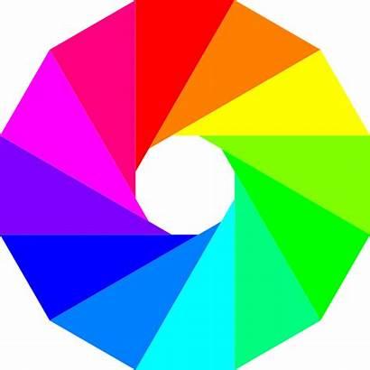 Clip Wheel Clipart Dodecagon Cliparts Circle Gay