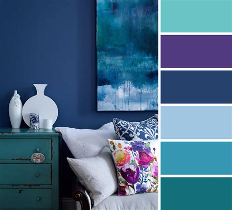 Purple Grey And Turquoise Living Room by Living Room Page 3