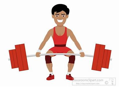 Clipart Weights Lift Weightlifting Heavy Sports Lifting