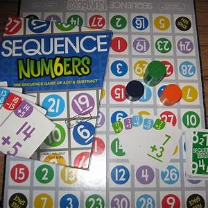 Sequence Board Game Printable  Blank Board Game Template