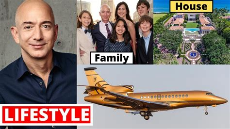 Jeff Bezos Lifestyle 2020, Income, Daughter, House, Cars ...