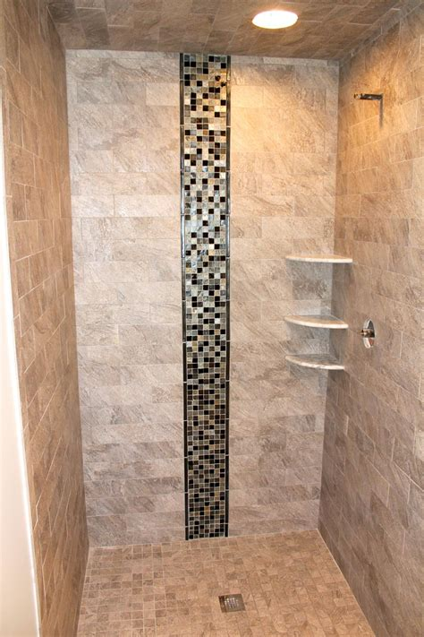 glass waterfall wall best bathroom shower tile ideas bath decors