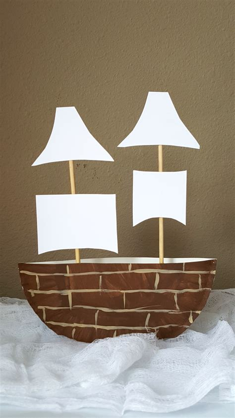 mayflower paper plate craft projects  kids