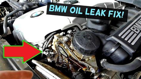 BMW E60 E61 OIL LEAK FIX | OIL FILTER HOUSING GASKET