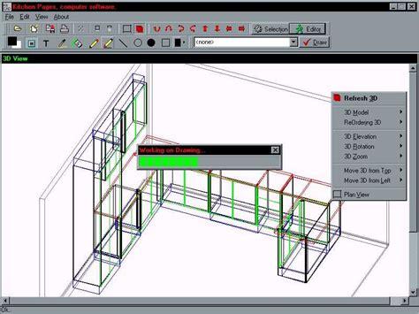 kitchen cabinet 3d design software top 10 cabinet design software for furniture makers