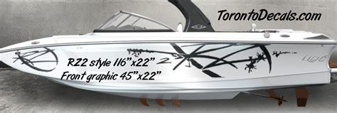 Tige Boat Graphics For Sale by Tige Boat Graphic Kits Tige Boat Vinyl Kits Tige Rz2 Boat