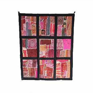 Tete De Lit Indienne : t te de lit artisanale patchwork ashok boutique indienne ~ Teatrodelosmanantiales.com Idées de Décoration