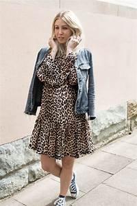 Kleid Mit Jeansjacke : outfit leo kleid zum wochenende stryletz ~ Frokenaadalensverden.com Haus und Dekorationen