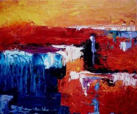 toile peinture a l huile peinture abstraite sur toile peinture 224 l huile au couteau 61x50 cm la peinture le dessin