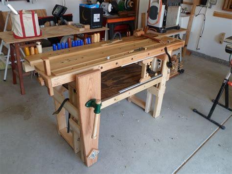 roubo type workbench finewoodworking