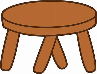 Stool Clipart Cliparts Table Clip Library
