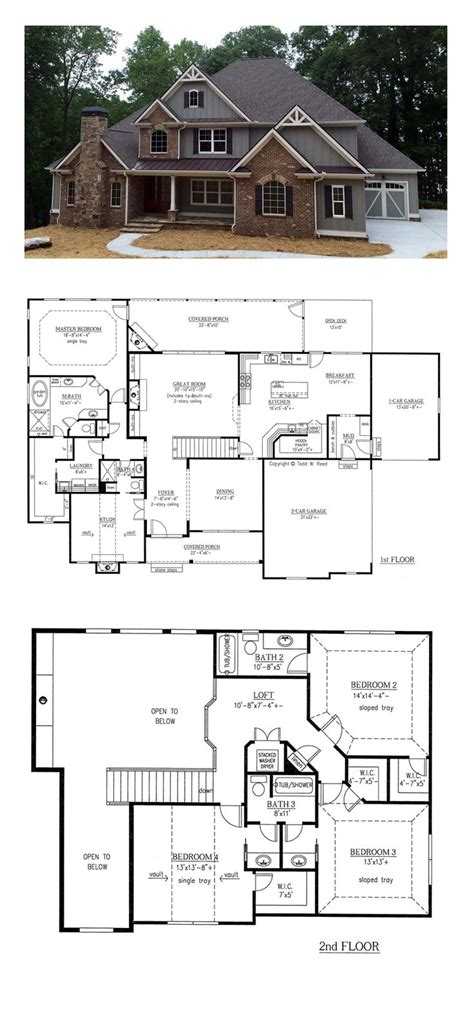 house plans small house plan ch182 floor plans and outside images