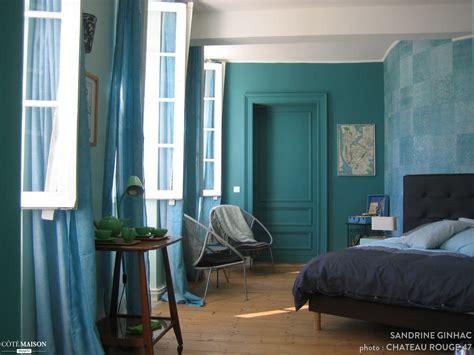 indogate com chambre bleu marine et blanche