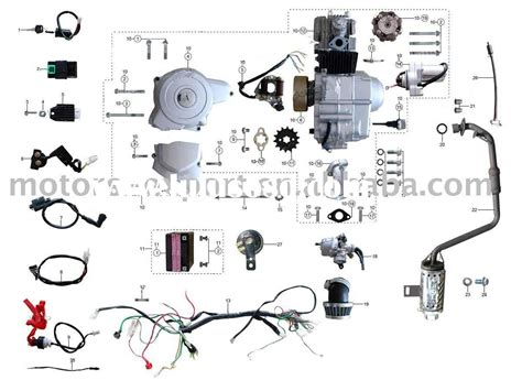 China Xingyue Scooter Wiring Diagram by 125cc Engine Wiring Diagram Wiring Library