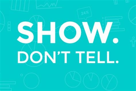 'show Don't Tell' Providing The Power To Improve Student Writing