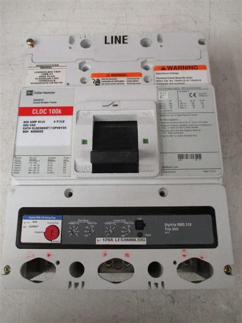 Cutler Hammer Cldc3600fx12p05y04 600a 600vc Industrial