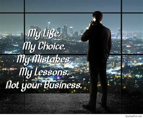 Mind Your Business Quotes Business Quotes Quotespics