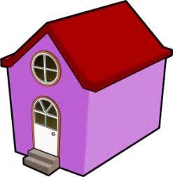 Bigredsmile A Little Purple House Clip Art At Clkercom