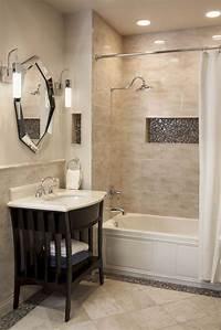bathtub tile ideas Best 20+ Small bathroom remodeling ideas on Pinterest | Half bathroom remodel, Inspired small ...